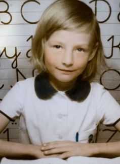 see story by Neil Clark  collect picture shows zsuzsanna Clarke  at Elementary school  during her childhood in Hungary